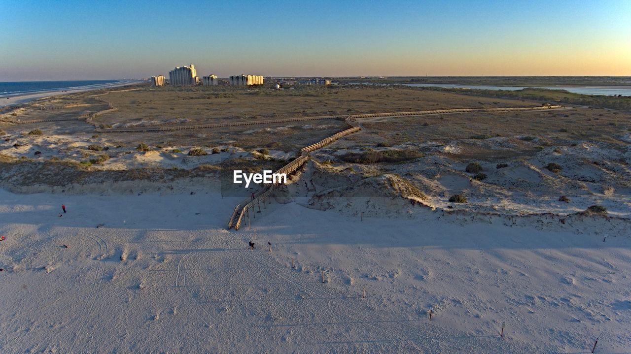Scenic View Of Smyrna Dunes Park