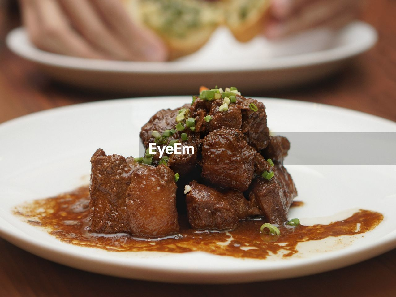 Plated Pork Adobo Filipino Food Pork Adobo | on EyeEm