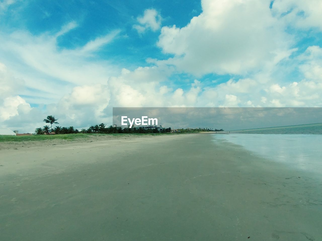 sky, sea, cloud - sky, tranquility, scenics, nature, beauty in nature, tranquil scene, water, beach, day, no people, outdoors, horizon over water, sand, landscape