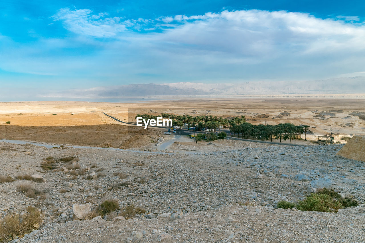 sky, cloud - sky, scenics - nature, environment, tranquil scene, landscape, beauty in nature, tranquility, nature, non-urban scene, day, water, no people, land, plant, remote, idyllic, outdoors, tree, climate, arid climate, salt flat