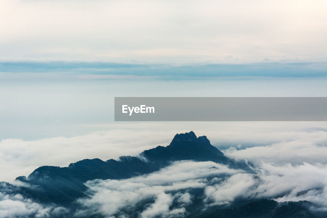cloud - sky, sky, beauty in nature, scenics - nature, tranquility, tranquil scene, nature, cloudscape, sunset, idyllic, no people, mountain, outdoors, majestic, environment, dramatic sky, fluffy, non-urban scene, day, softness, meteorology, mountain peak, above