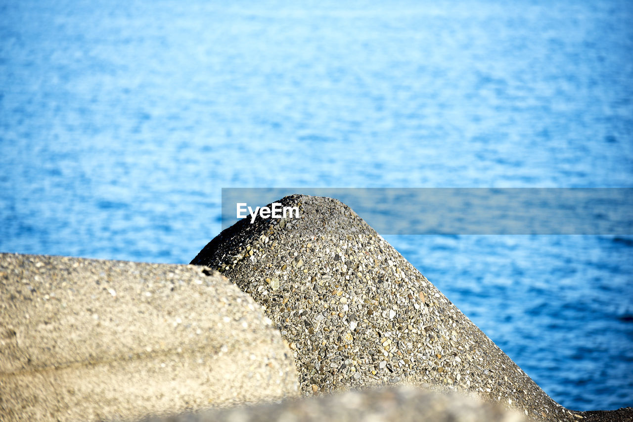 water, no people, rock - object, close-up, sea, outdoors, textured, day, nature