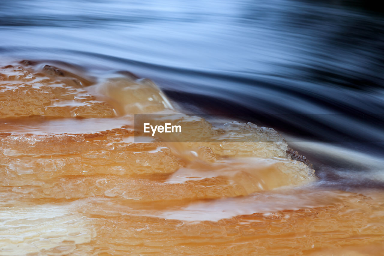 motion, no people, water, food and drink, close-up, food, wave, day, outdoors, nature, freshness