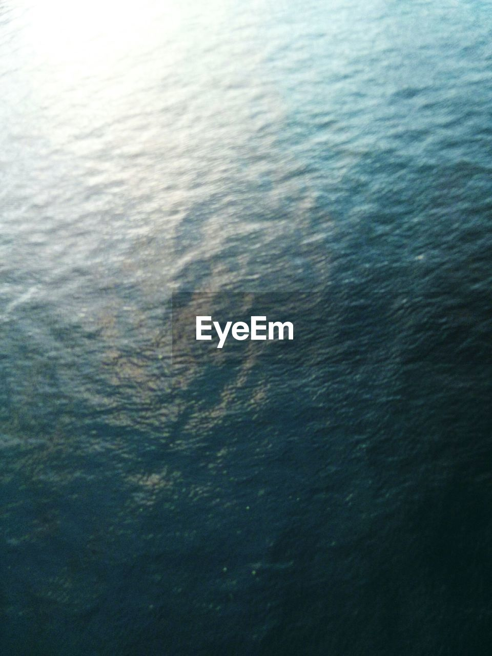 High Angle View Of Water In Sea