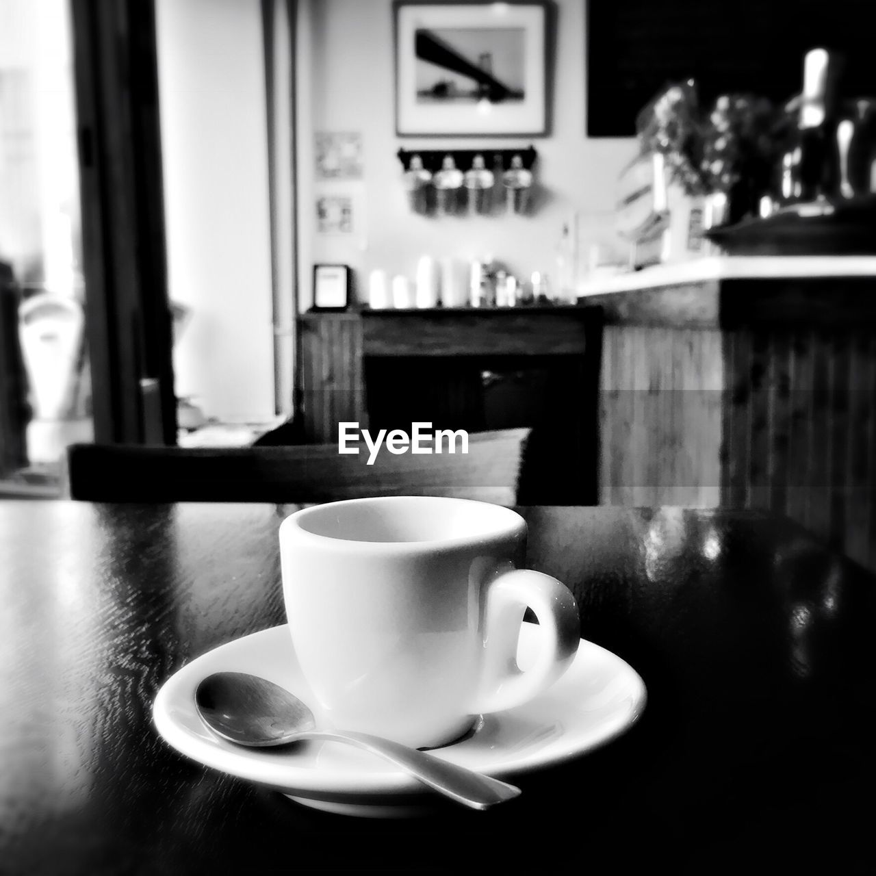 coffee cup, drink, refreshment, food and drink, coffee - drink, saucer, table, indoors, freshness, no people, close-up, frothy drink, food, day
