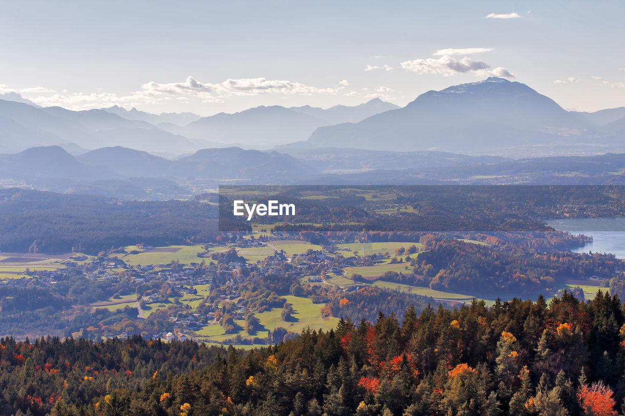 Scenic Landscape In Austria