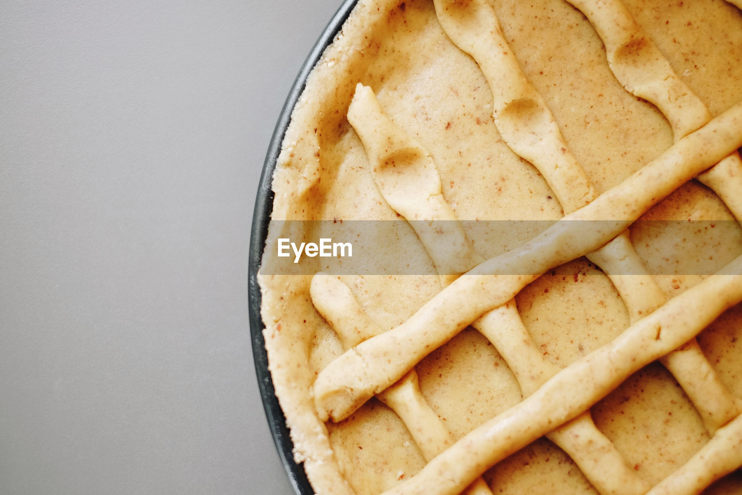 Close-up of baked pie