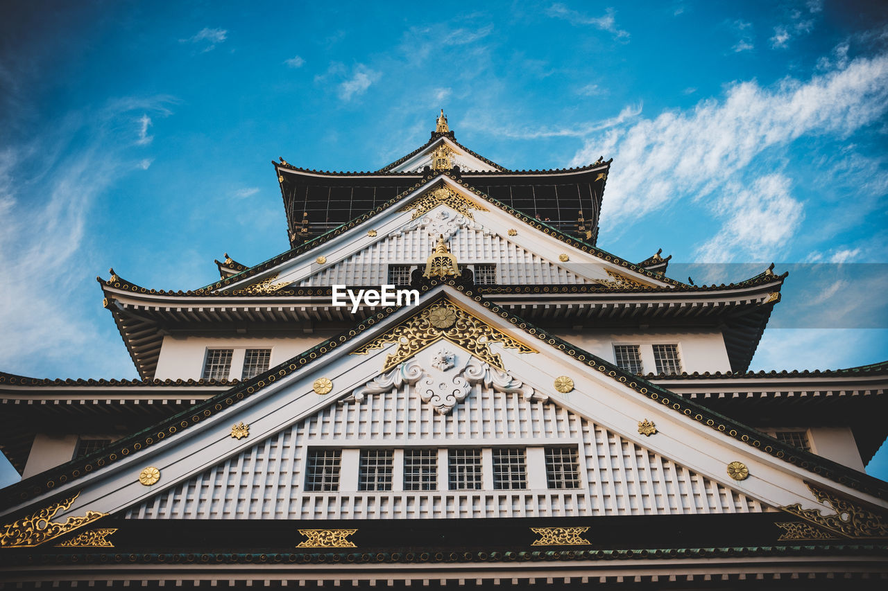 built structure, architecture, building exterior, sky, cloud - sky, building, low angle view, place of worship, belief, no people, religion, roof, nature, spirituality, travel destinations, day, travel, outdoors, tourism, spire, ornate