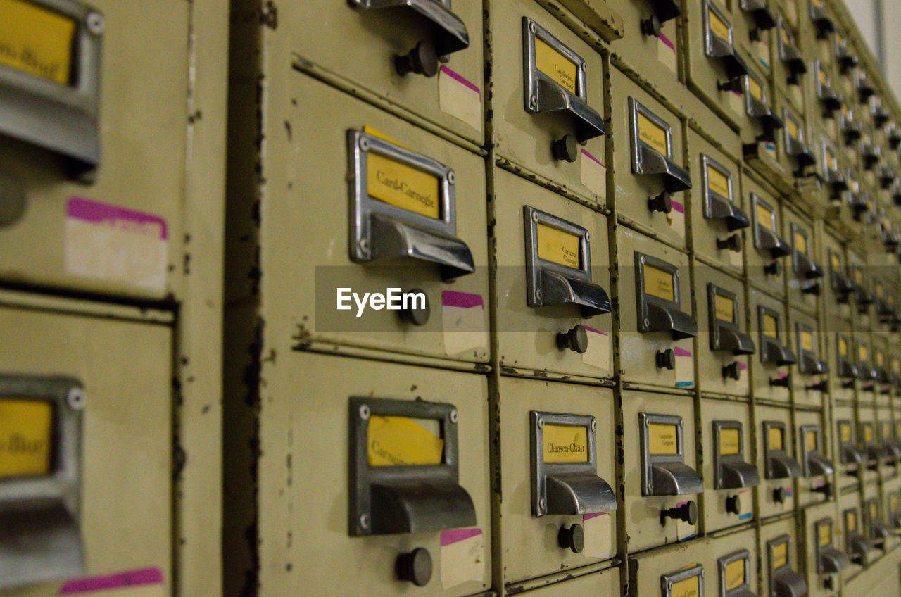 control, technology, electricity, safety, control panel, indoors, no people, security, protection, fuel and power generation, close-up, metal, communication, switch, locker, in a row, selective focus, full frame, mailbox, focus on foreground, push button, power supply