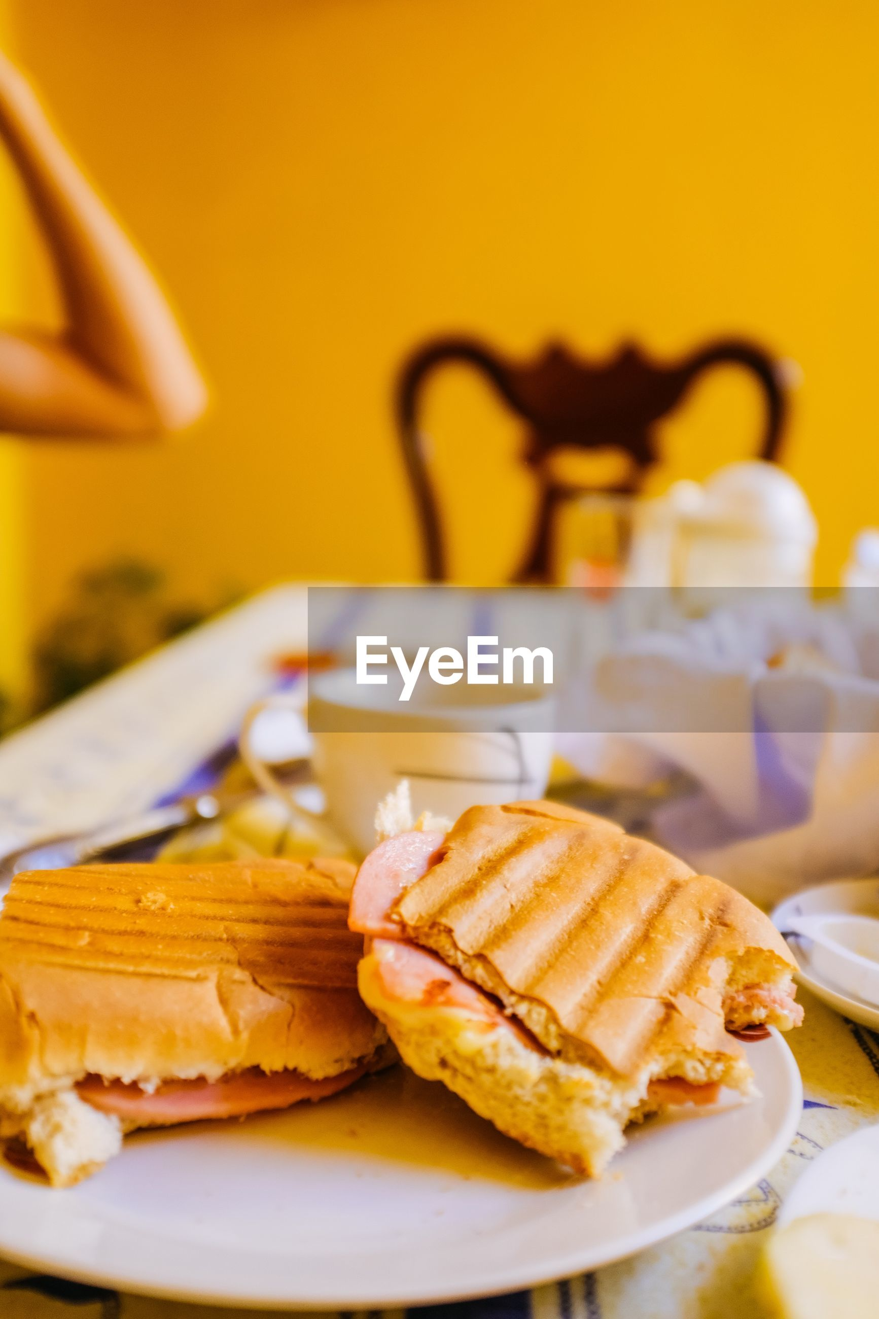 food and drink, plate, food, table, indoors, bread, still life, freshness, no people, ready-to-eat, serving size, slice, close-up, healthy eating, breakfast, day