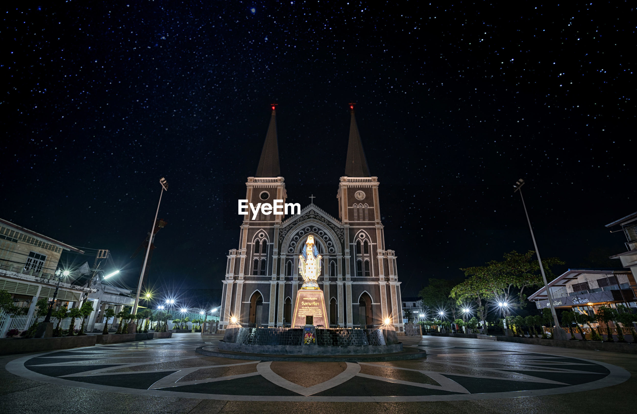 Cathedral of the immaculate conception, chanthaburi thailand.