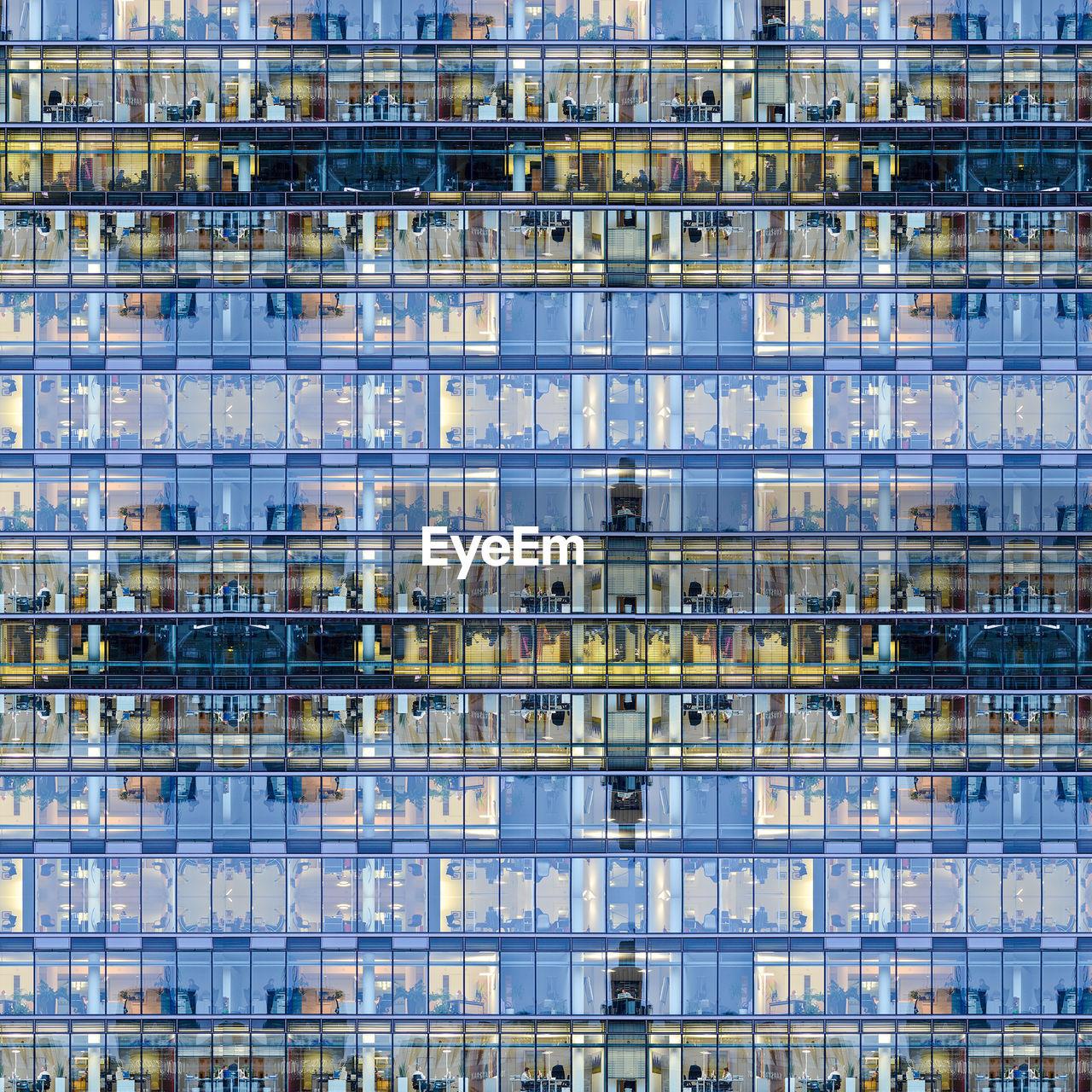 Multiple Image Of Modern Building
