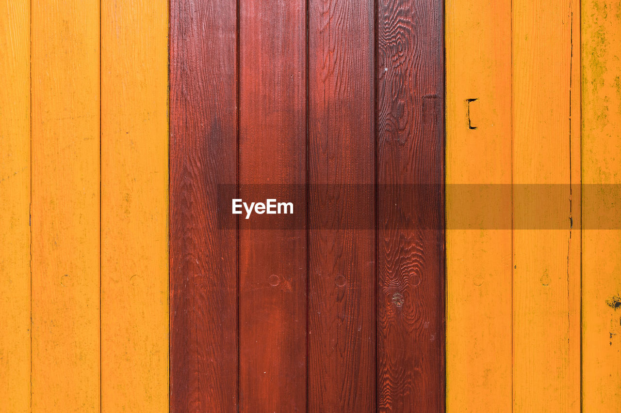 wood - material, full frame, safety, door, pattern, backgrounds, entrance, no people, security, protection, brown, closed, wood, day, built structure, architecture, close-up, textured, wall - building feature, yellow, outdoors, wood grain