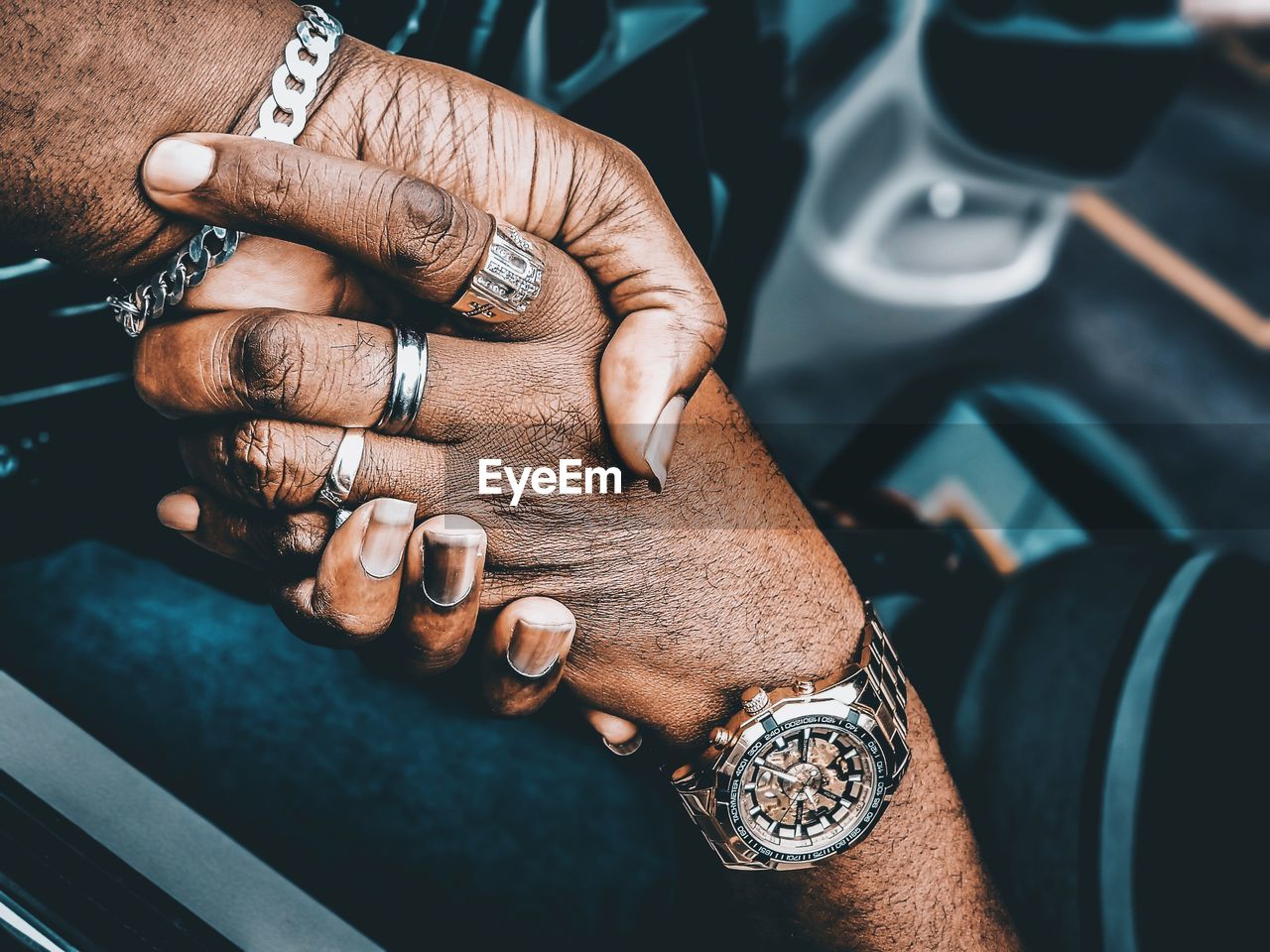 human hand, hand, human body part, real people, one person, tattoo, close-up, adult, time, ring, wristwatch, watch, men, body part, focus on foreground, jewelry, fashion, lifestyles, bracelet, finger, nail