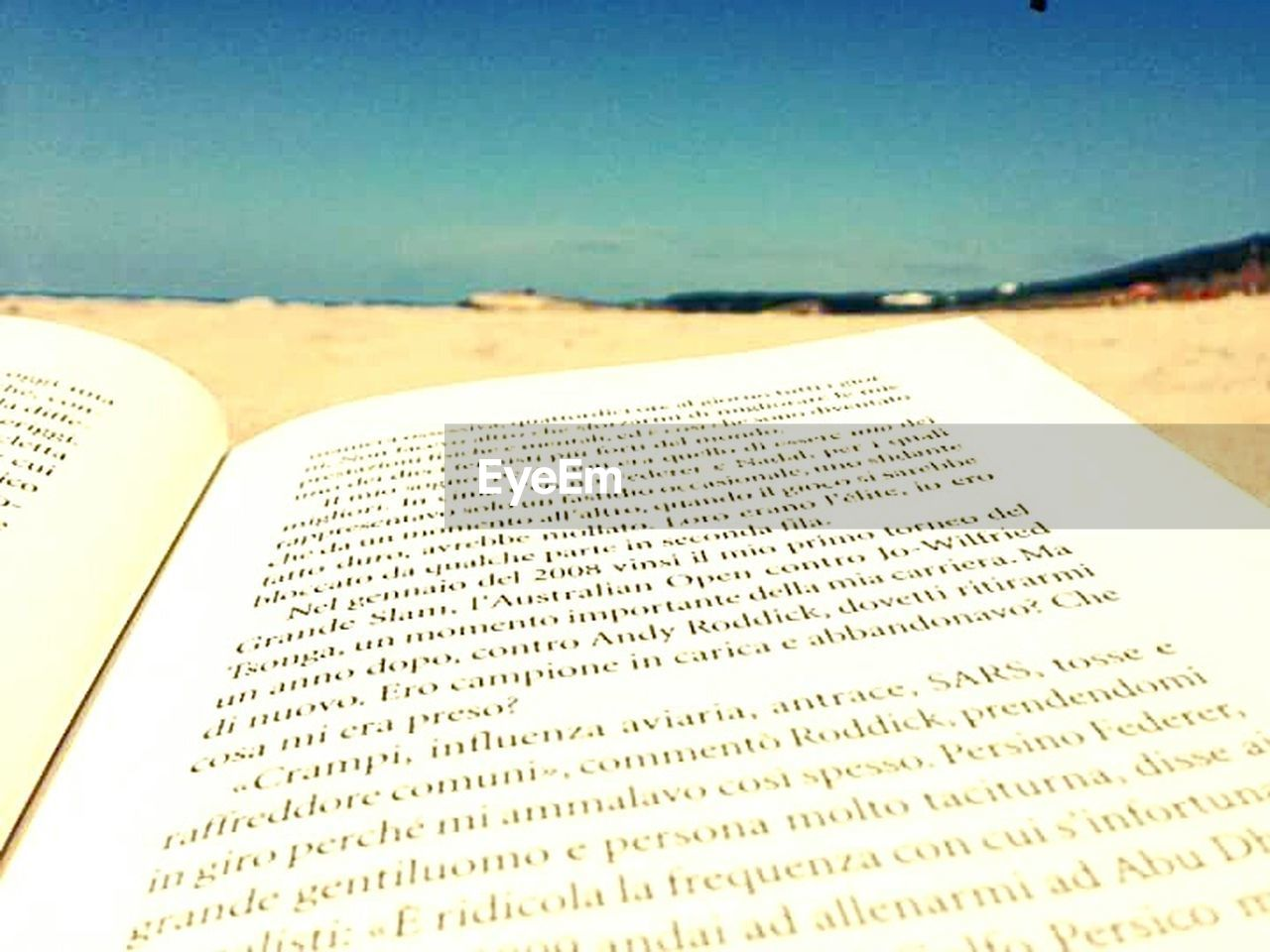 beach, book, sea, sand, text, paper, no people, literature, close-up, water, ink, outdoors, day