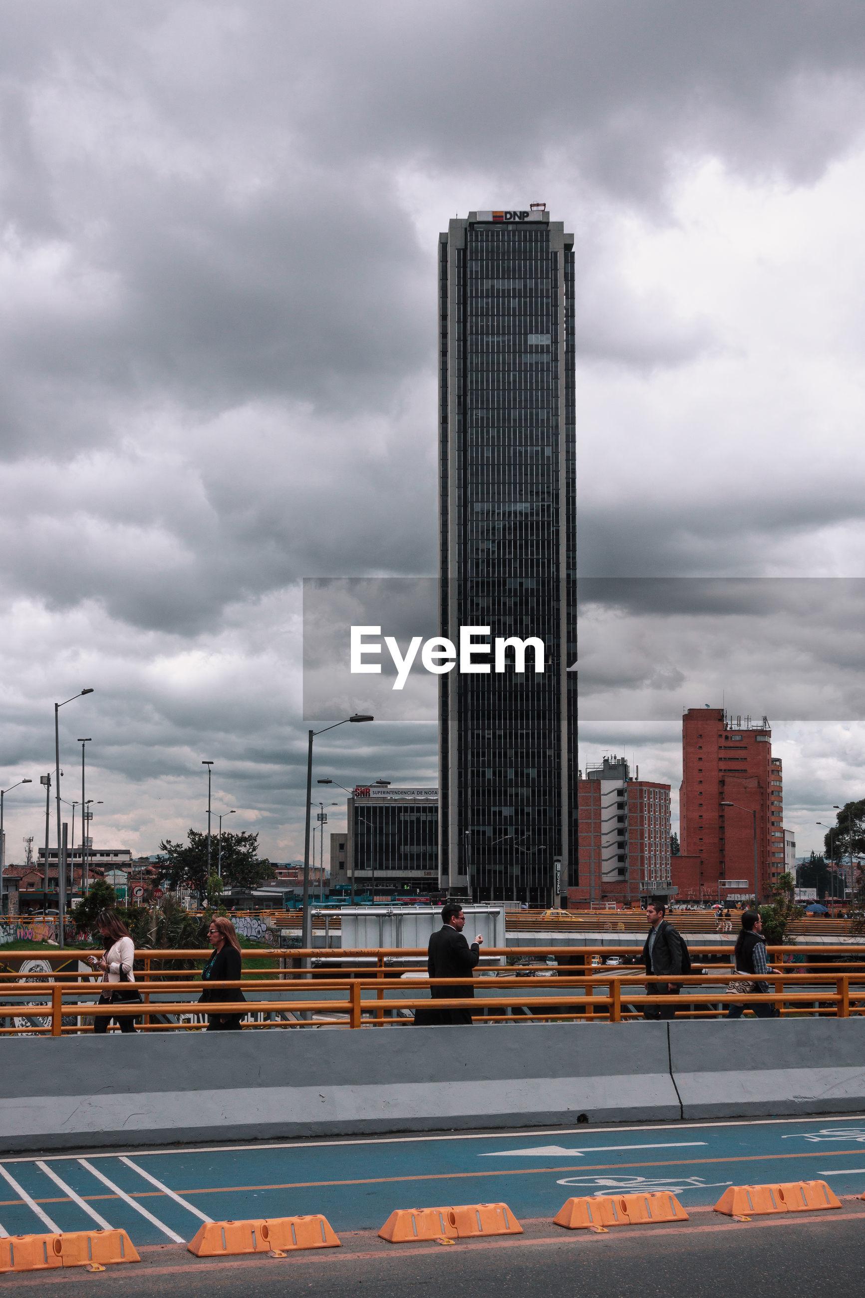 MODERN BUILDINGS IN CITY