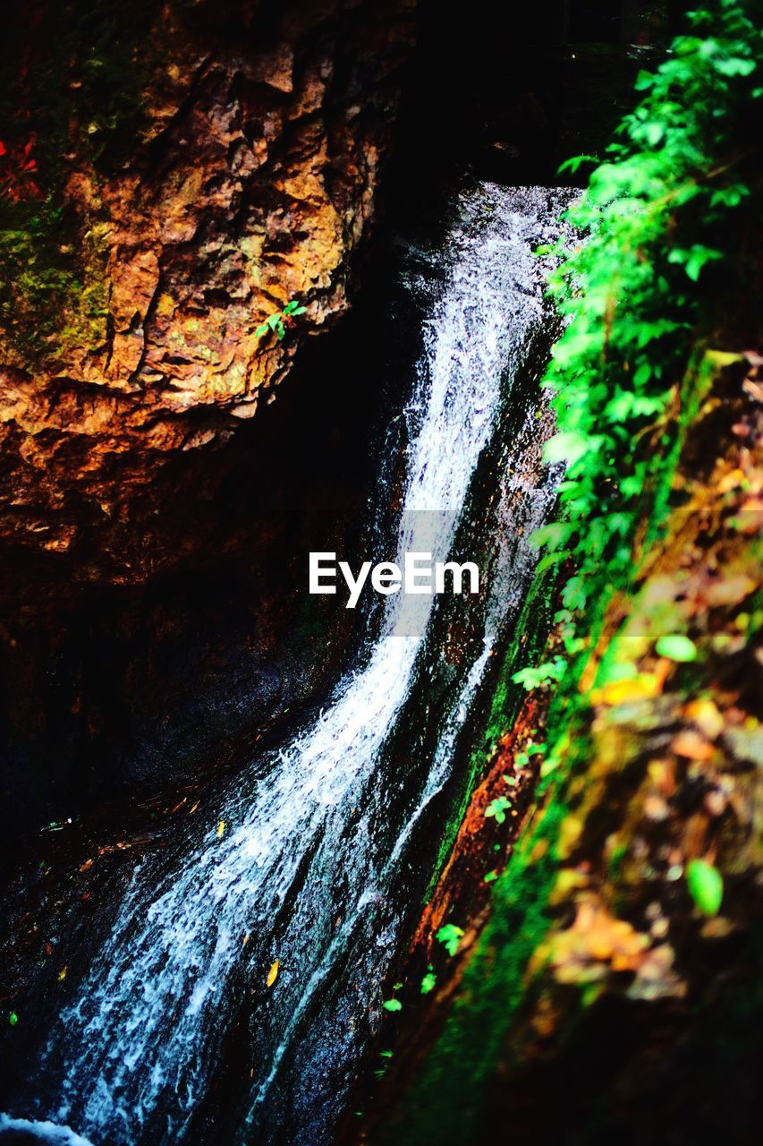 motion, nature, beauty in nature, waterfall, water, scenics, tranquil scene, river, no people, outdoors, tranquility, day, power in nature, close-up
