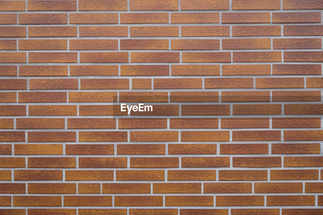 brick, wall, brick wall, full frame, pattern, backgrounds, architecture, wall - building feature, textured, built structure, no people, building exterior, close-up, geometric shape, brown, repetition, shape, design, abstract, day