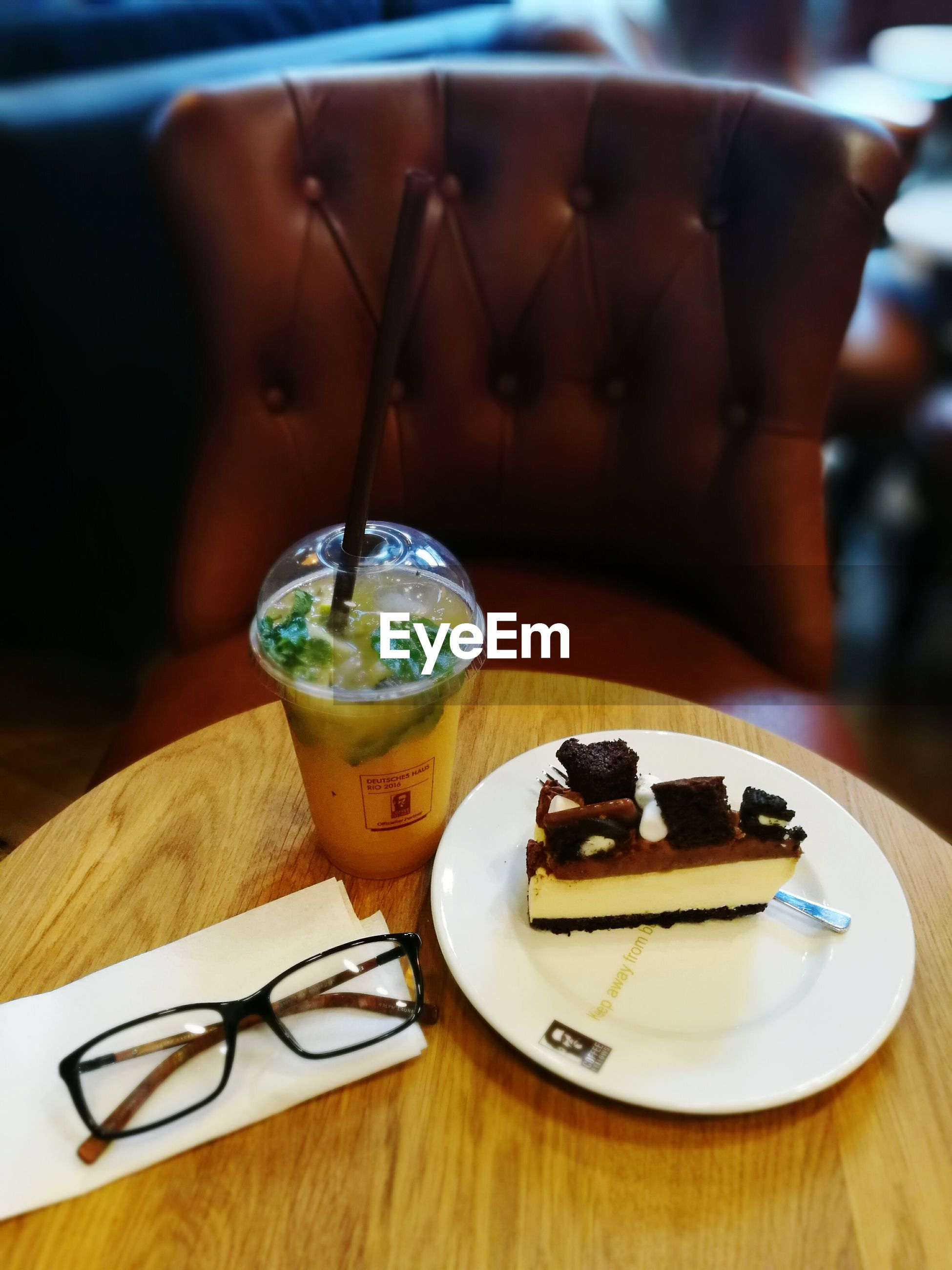 food and drink, table, indoors, freshness, selective focus, food, plate, focus on foreground, dessert, no people