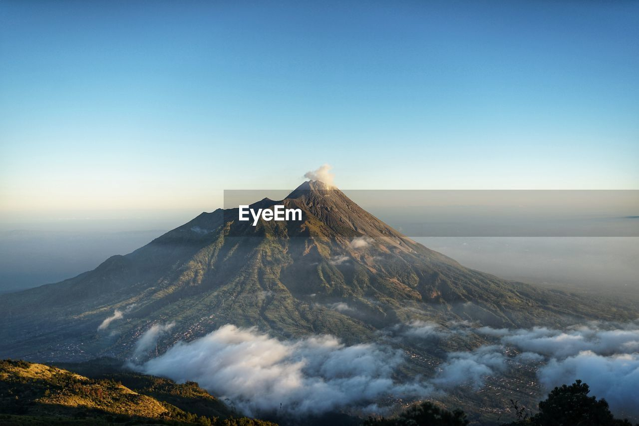 Mountain merapi