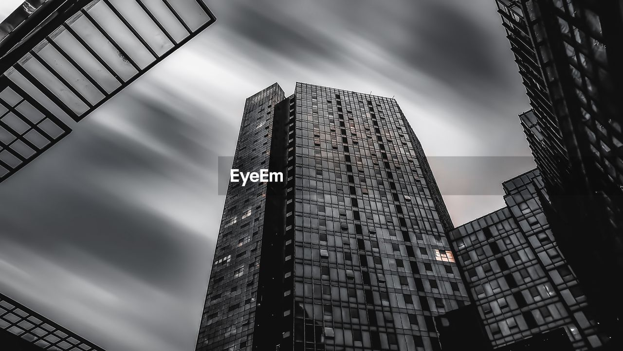 built structure, architecture, low angle view, building exterior, building, sky, city, no people, tall - high, cloud - sky, office, modern, nature, day, office building exterior, outdoors, tower, skyscraper, window, business, apartment, financial district