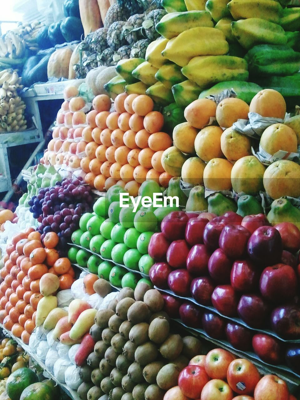 View Of Fruits For Sale