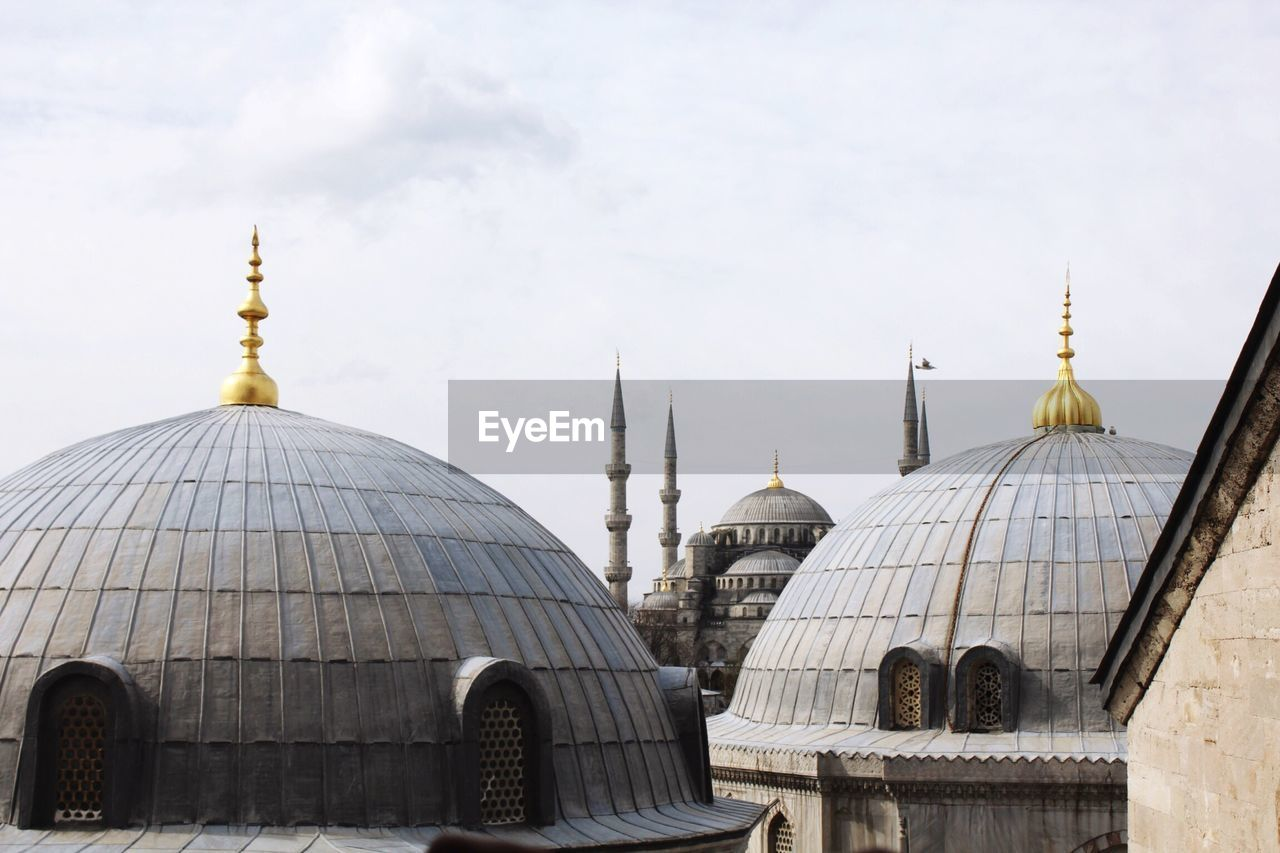 High Section View Of Hagia Sophia