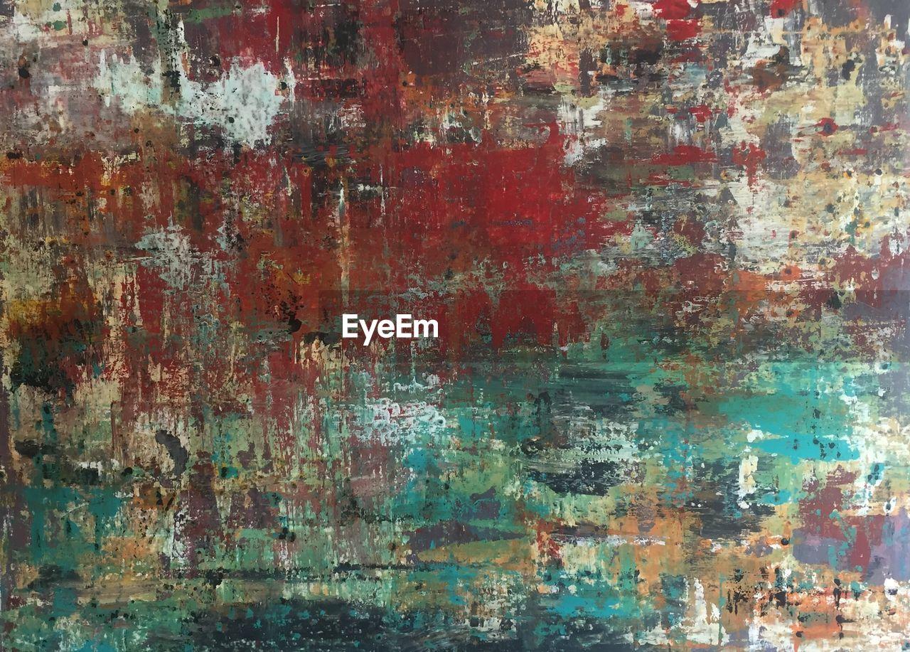 Full frame of painting