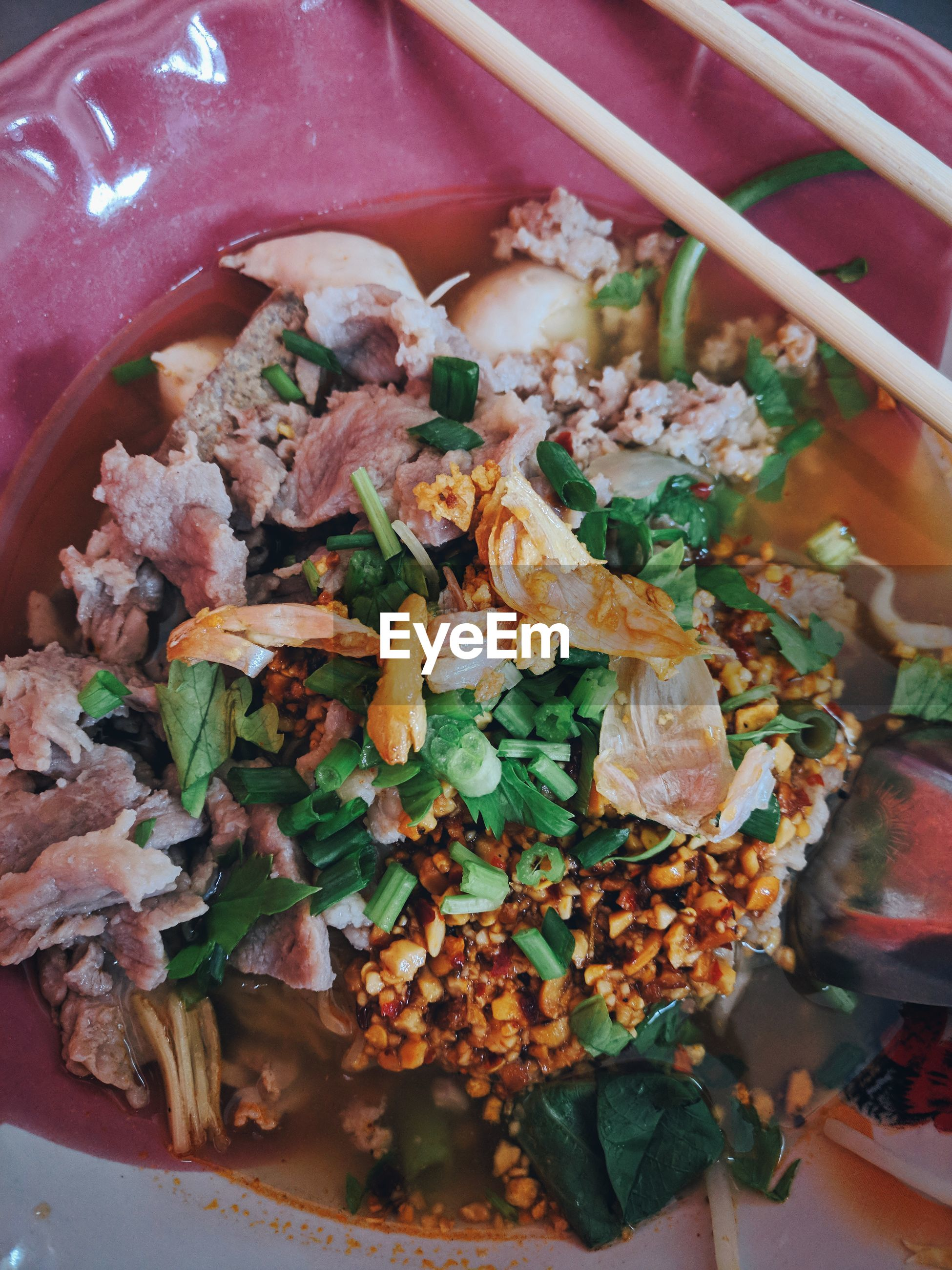 Close-up of food in in bowl
