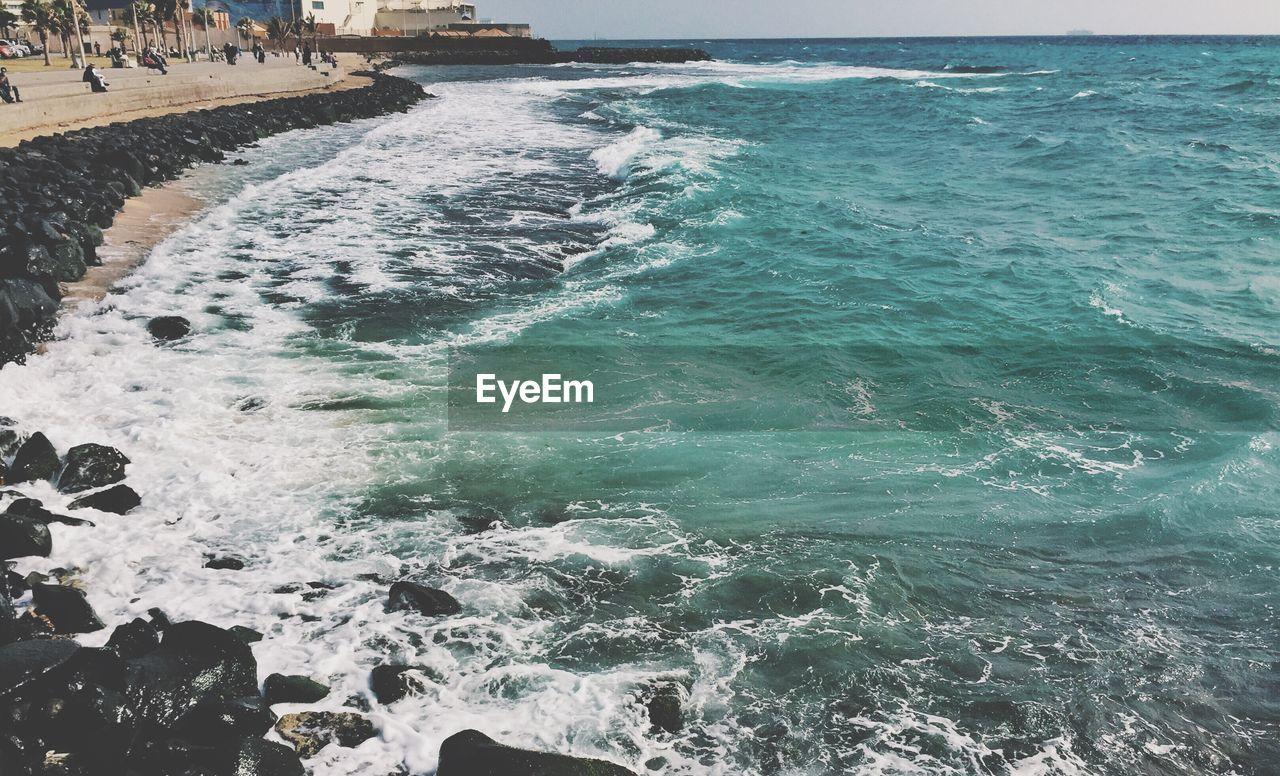 Scenic View Of Sea In Saudi Arabia