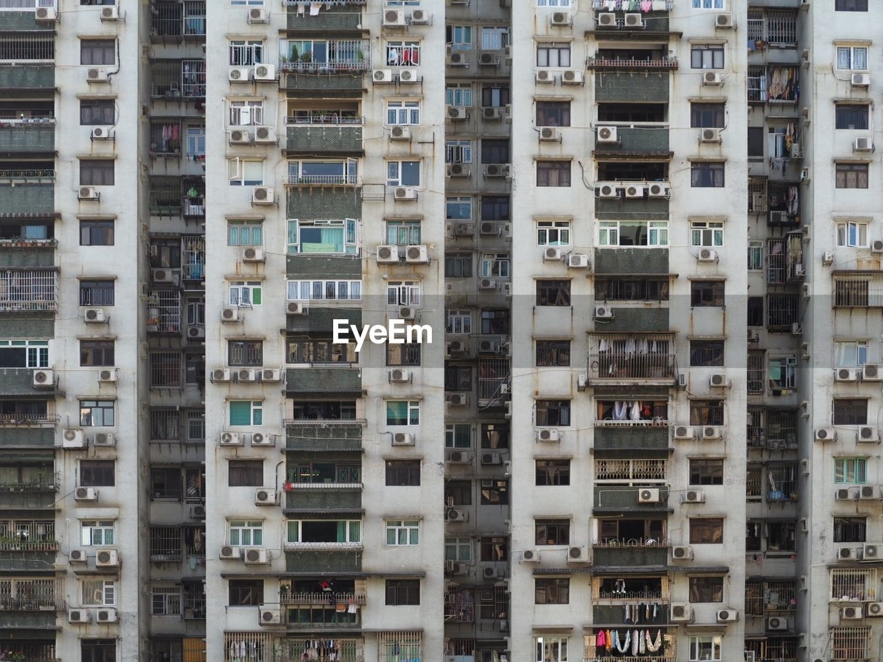 Full Frame Shot Of Apartment