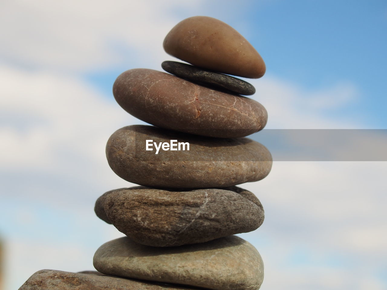 stack, balance, rock - object, pebble, focus on foreground, no people, arrangement, cloud - sky, day, smooth, nature, sky, close-up, outdoors, chess, chess piece