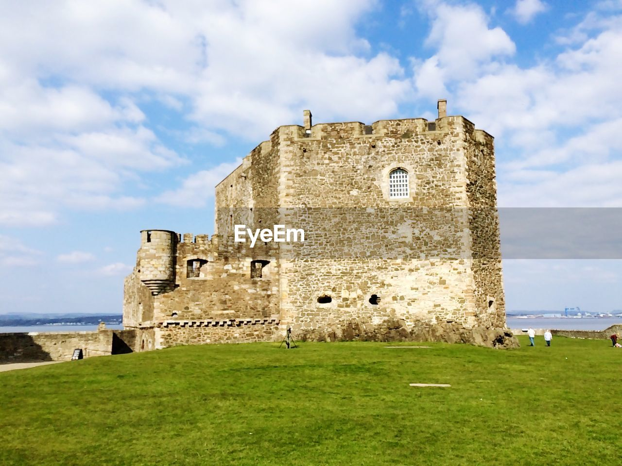 architecture, history, built structure, the past, sky, grass, cloud - sky, nature, building, castle, land, building exterior, day, ancient, plant, old, fort, travel destinations, travel, tourism, outdoors, no people, ruined