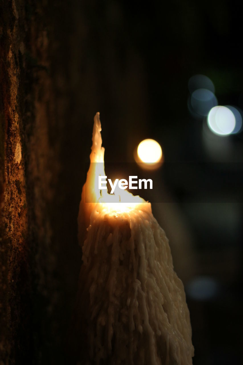 flame, burning, candle, night, heat - temperature, glowing, illuminated, lighting equipment, focus on foreground, celebration, no people, close-up, indoors, sweet food, diya - oil lamp