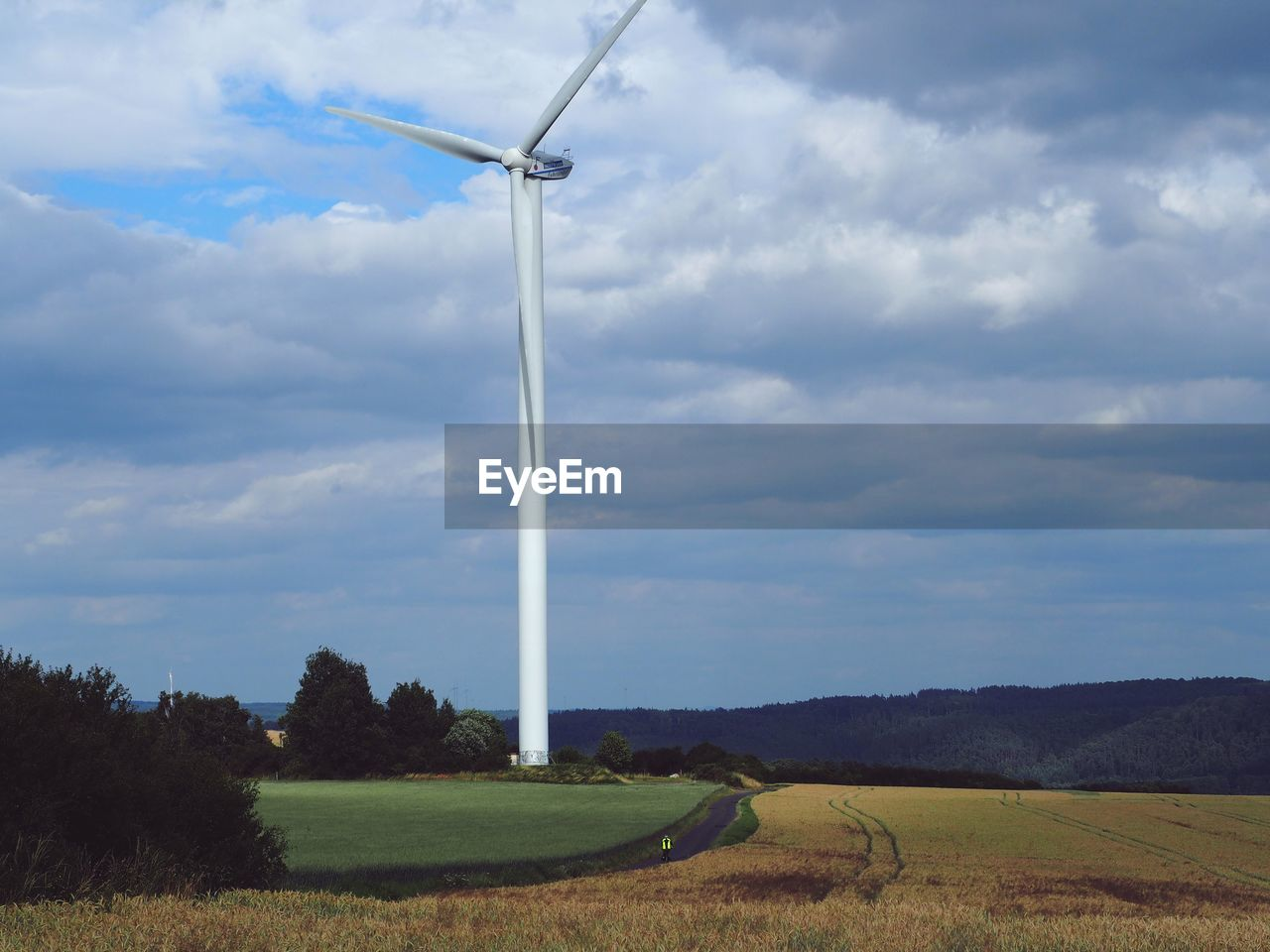 cloud - sky, sky, environment, landscape, wind turbine, turbine, renewable energy, alternative energy, fuel and power generation, environmental conservation, field, nature, beauty in nature, land, wind power, day, no people, plant, rural scene, scenics - nature, outdoors, sustainable resources