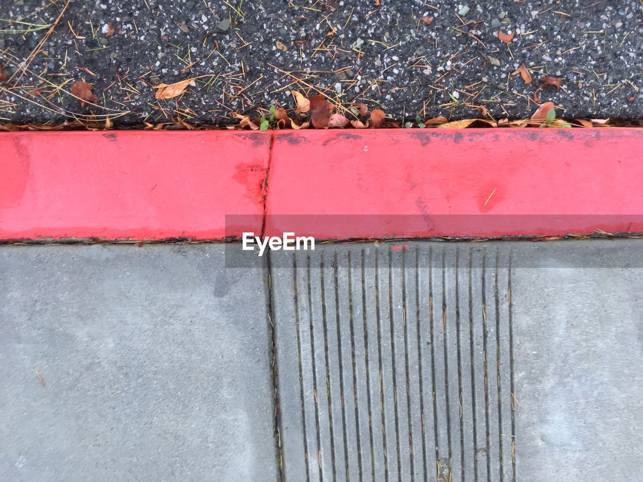 day, leaf, outdoors, red, no people, gutter, close-up, architecture, nature
