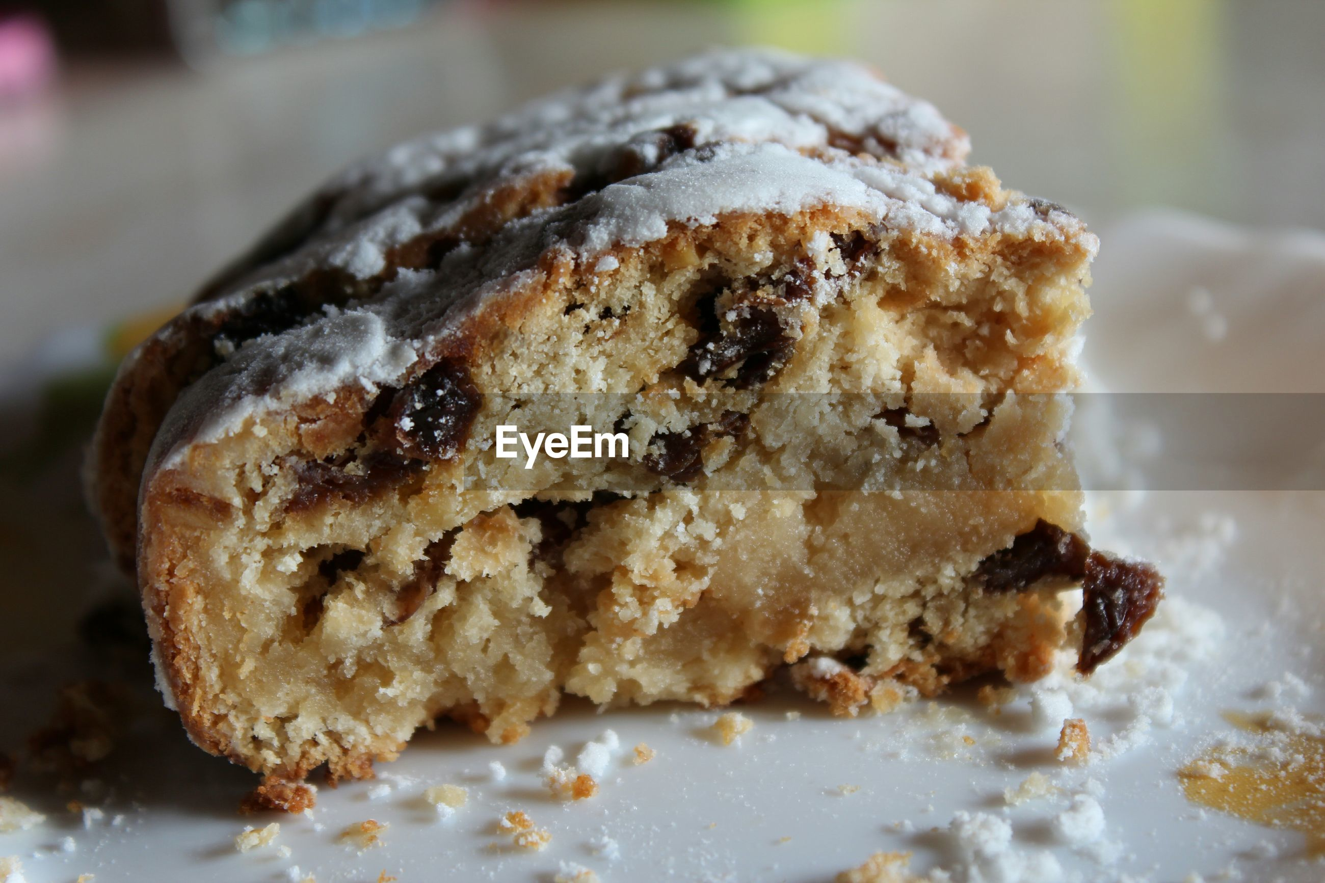 food and drink, food, freshness, ready-to-eat, sweet food, indoors, close-up, unhealthy eating, indulgence, still life, dessert, plate, baked, focus on foreground, temptation, cake, selective focus, snack, serving size, bread