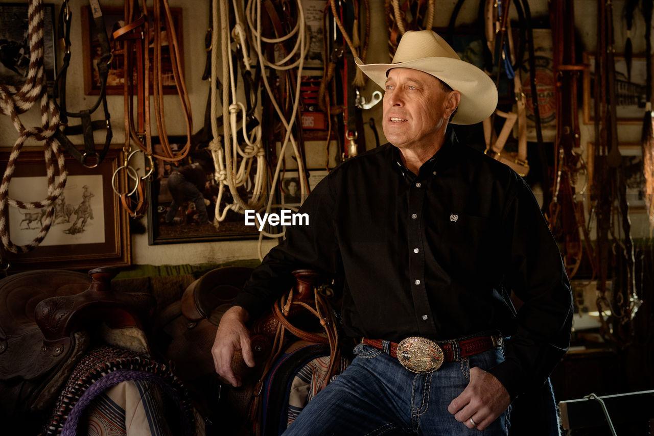 Portrait Of Cowboy