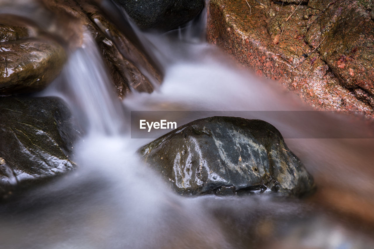 waterfall, motion, long exposure, water, flowing water, scenics, beauty in nature, nature, blurred motion, river, no people, rapid, rock - object, power in nature, outdoors, day