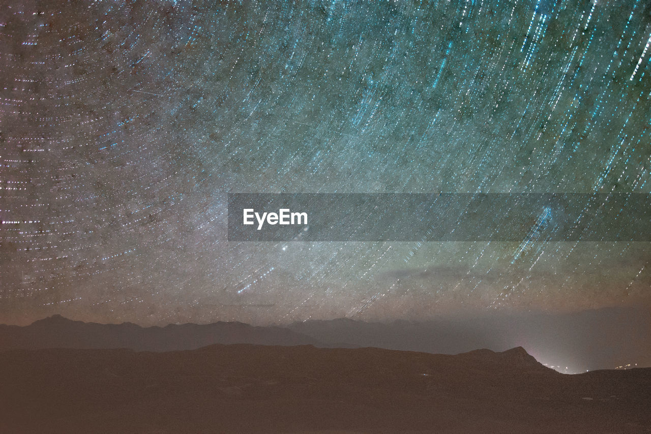 scenics - nature, star - space, beauty in nature, mountain, night, sky, astronomy, tranquility, space, tranquil scene, nature, no people, galaxy, star, mountain range, idyllic, star field, outdoors, non-urban scene, landscape