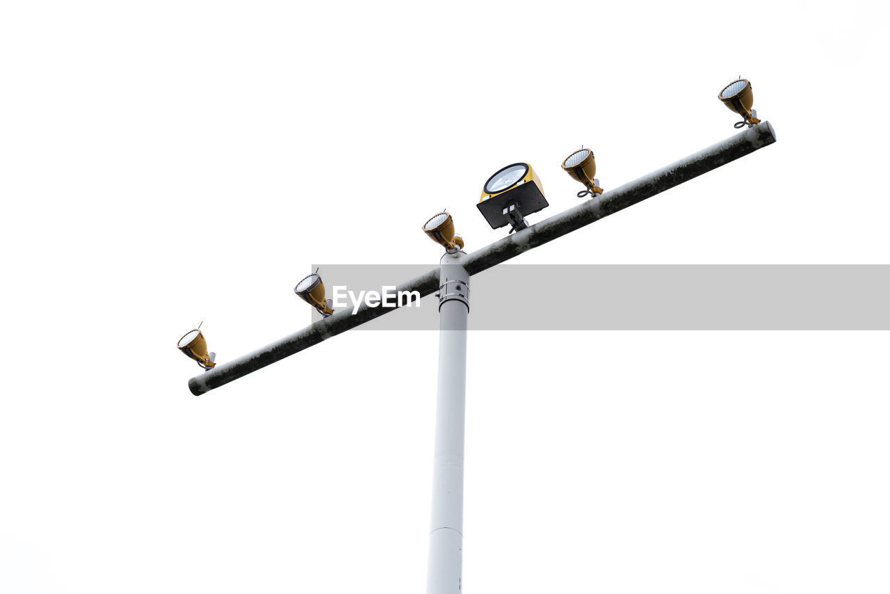 LOW ANGLE VIEW OF STREET LIGHT