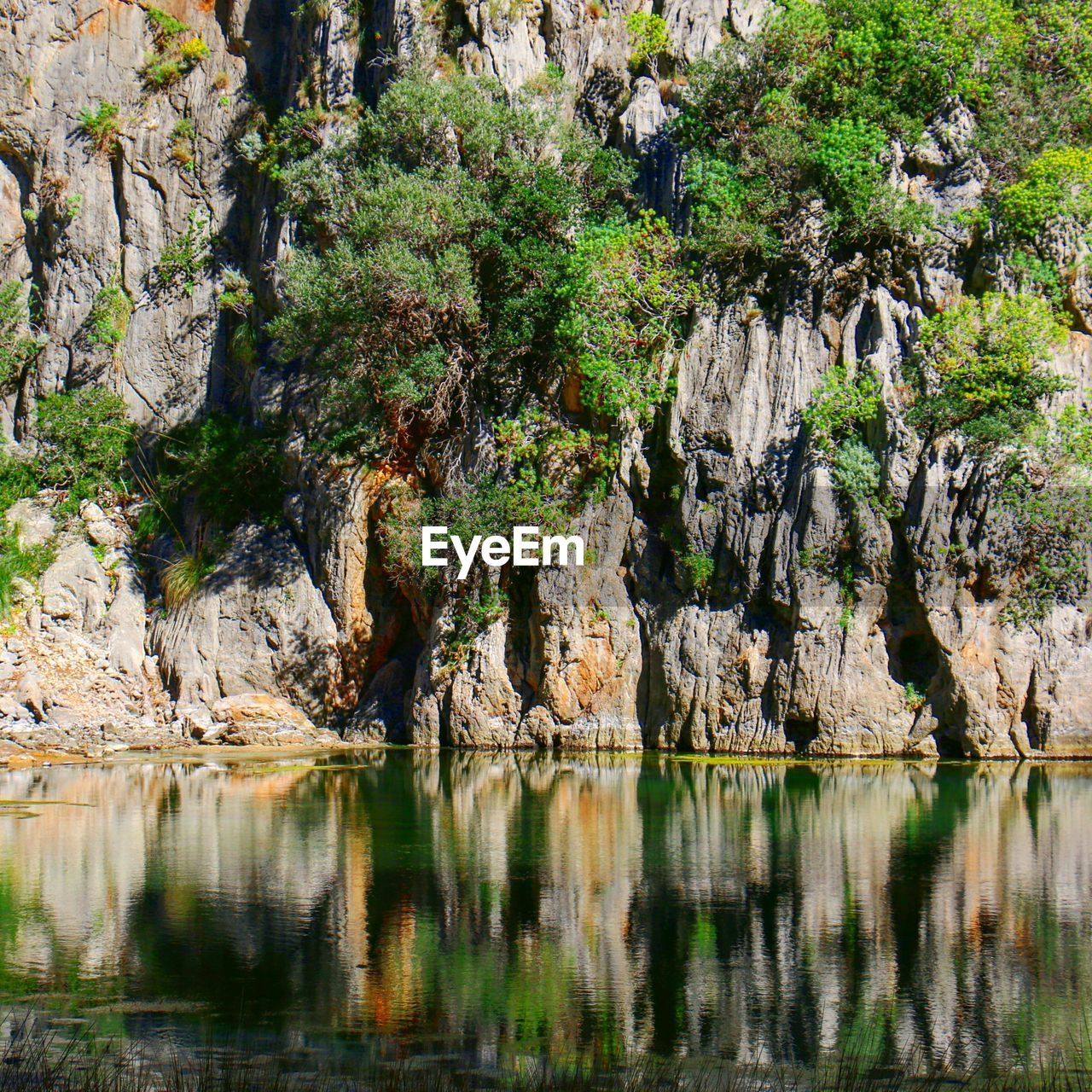 rock, rock formation, rock - object, beauty in nature, solid, tranquility, water, no people, day, nature, physical geography, reflection, geology, non-urban scene, tranquil scene, scenics - nature, plant, land, outdoors, eroded, formation