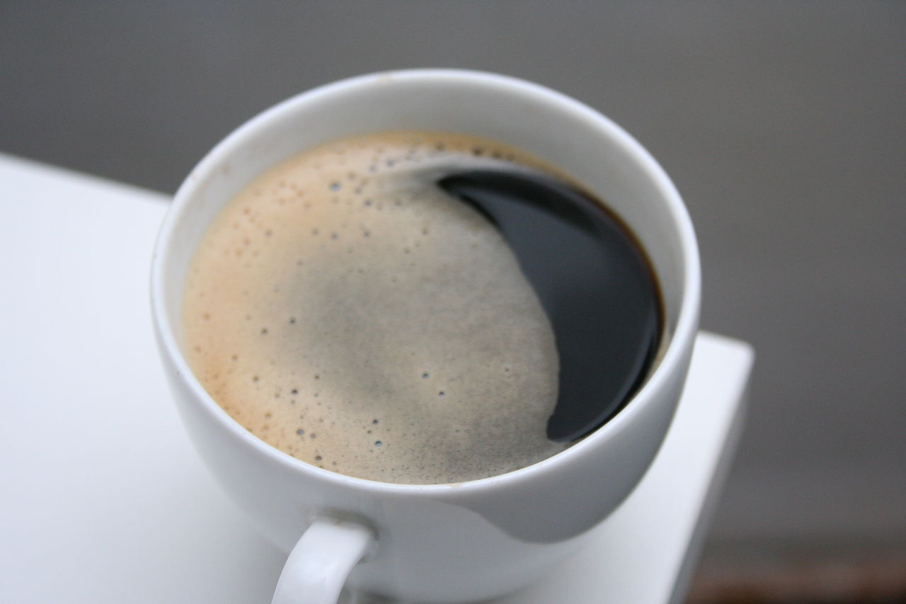 Close-Up Of Espresso On Table