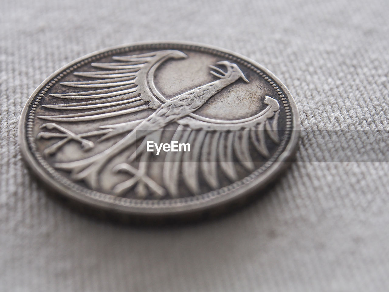 Close-Up Of Coin