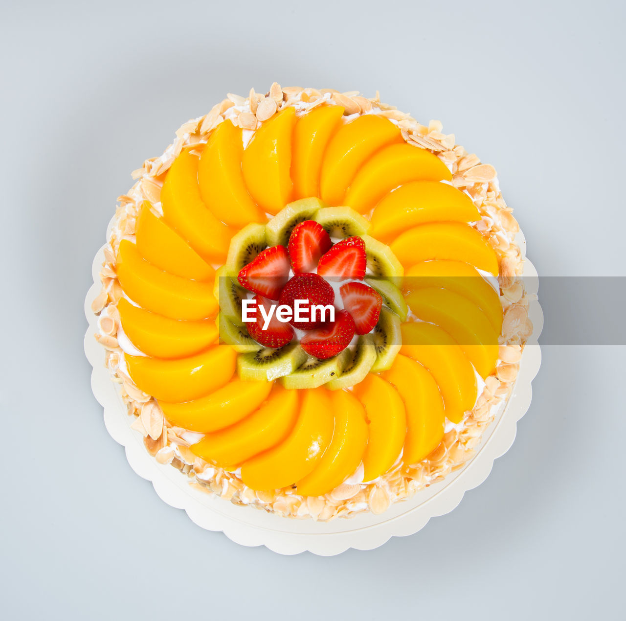 food and drink, food, sweet food, freshness, fruit, dessert, sweet, indulgence, cake, berry fruit, temptation, indoors, studio shot, healthy eating, strawberry, still life, ready-to-eat, yellow, baked, no people, tart - dessert, fruitcake