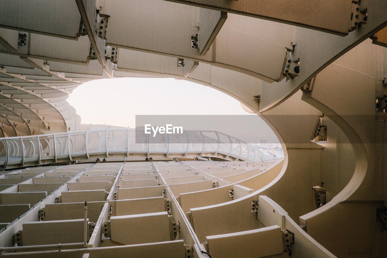 Architectural Detail Of Metropol Parasol
