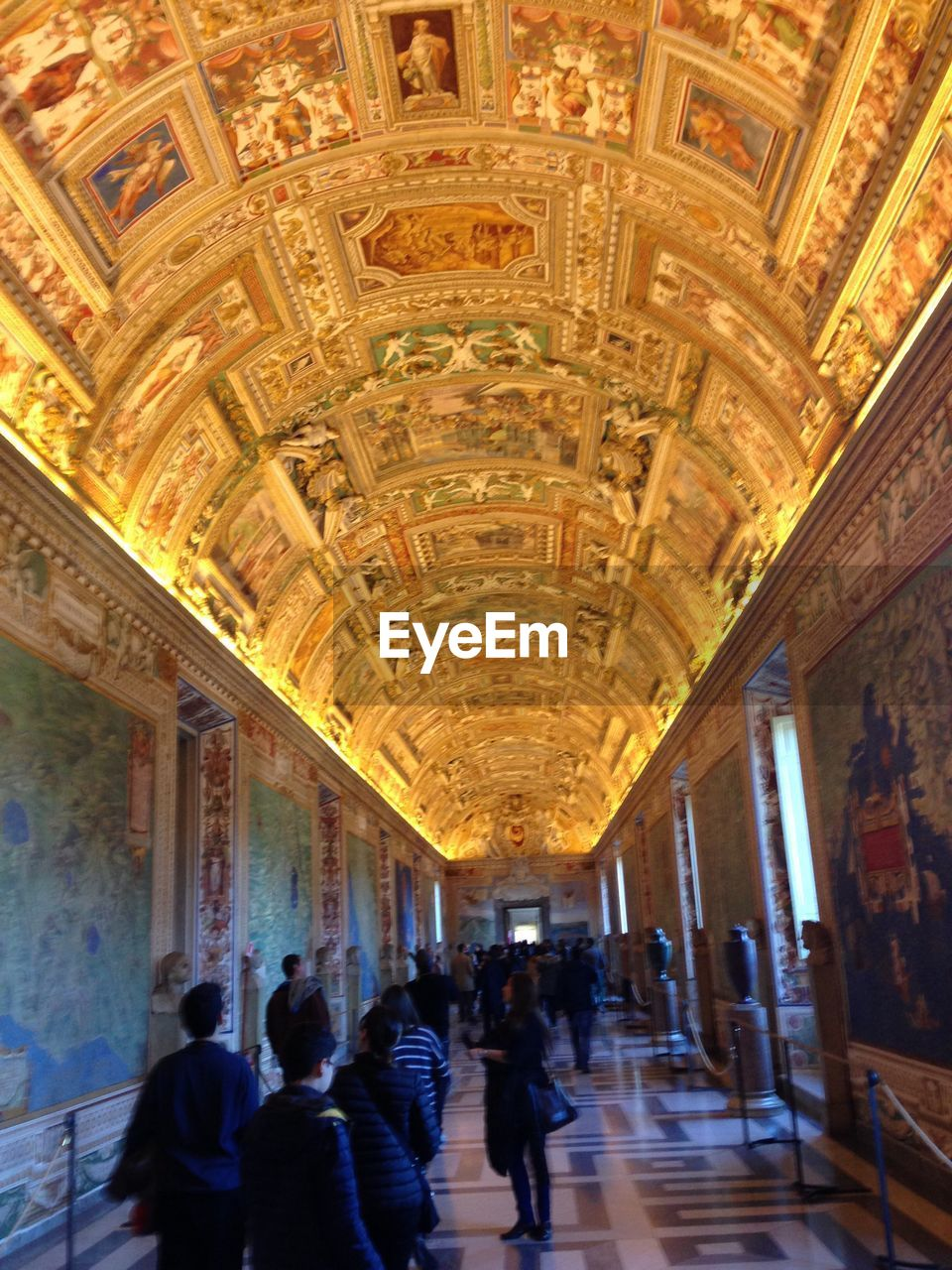 indoors, ceiling, architecture, corridor, men, day, people, adult