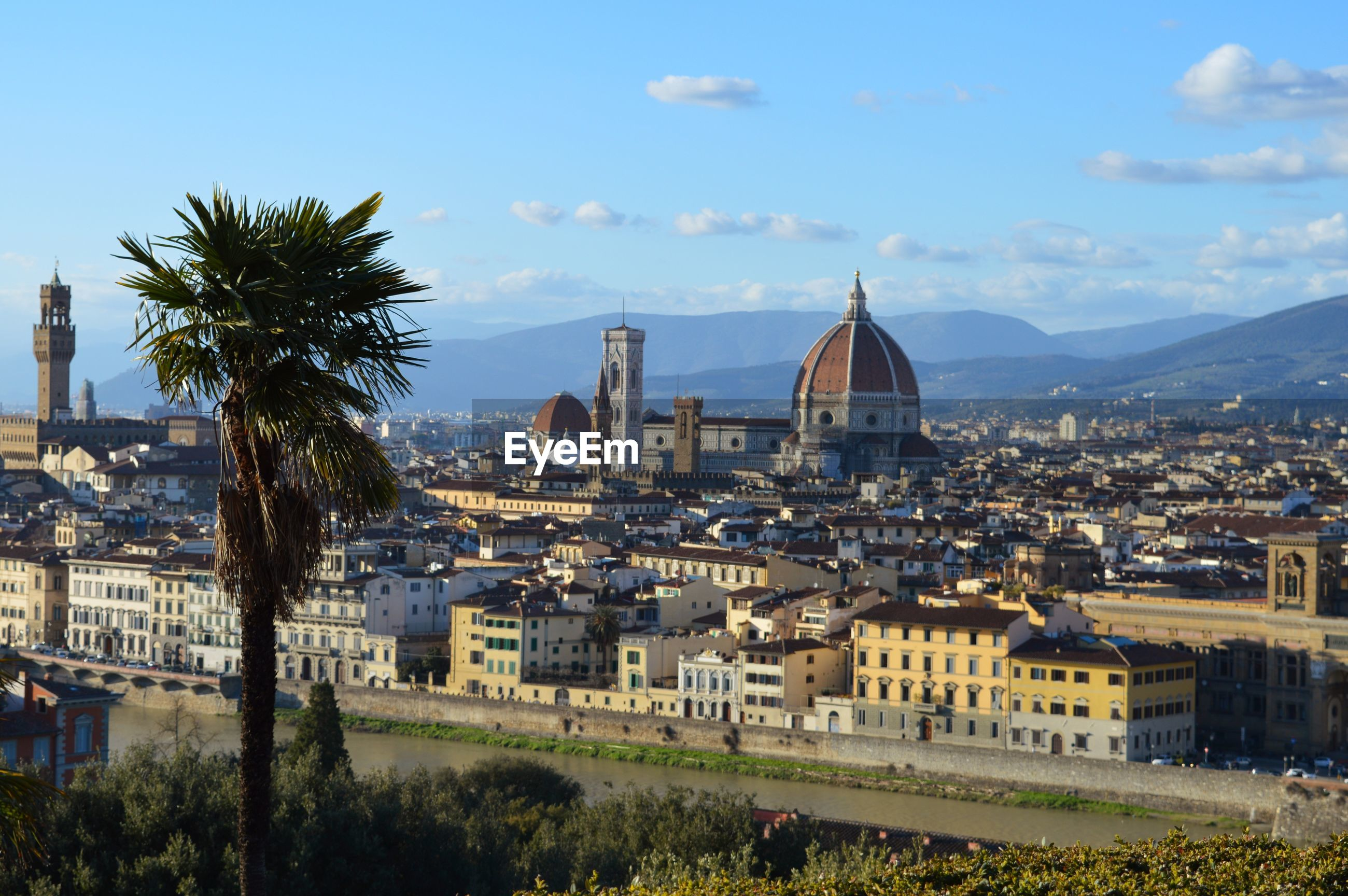 View from piazzale michelangelo in florence, italy