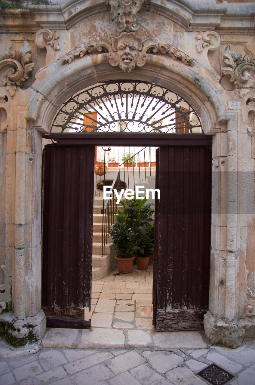 door, entrance, arch, architecture, no people, outdoors, day, entry