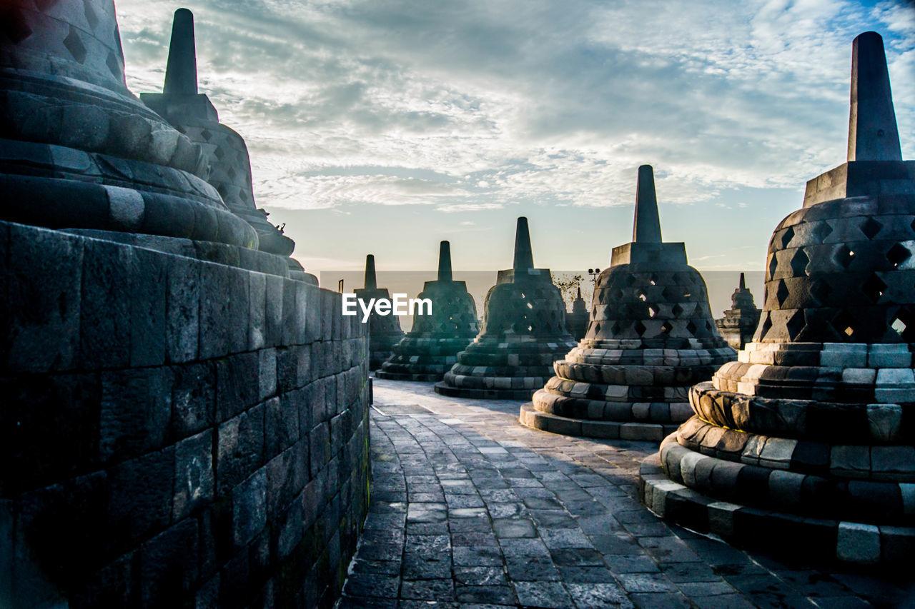 Bells At Borobudur Temple